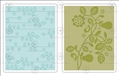 Форма для эмбоссирования Pear & Vines Set, Textured Impressions Embossing Folders, Sizzix