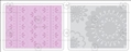 Форма для эмбоссирования Lace Set, Textured Impressions Embossing Folders, Sizzix