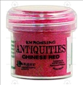 Пудра для эмбоссинга Antiquities - Chinese Red, Tim Holtz
